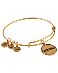 ALEX AND ANI | Metallic University Of Miami School Name | Lyst