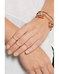 Maria Black - Metallic Set Of Three Rose Gold-Plated Phalanx Rings - Lyst