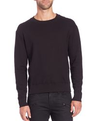 J Brand - Black Potter Cotton Sweatshirt for Men - Lyst