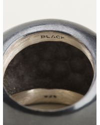 Maria Black | Metallic 'Smooth Rock' Ring | Lyst