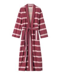Toast | Purple Stripe Gown | Lyst
