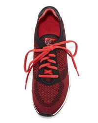 Ash - Black Lucky Knit Lace-up Sneaker - Lyst