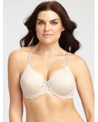 Chantelle | Brown Rive Gauche Full Coverage T-shirt Bra | Lyst
