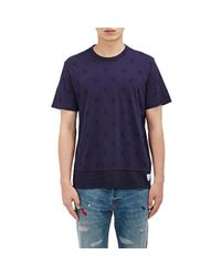 Paul Smith - Blue Star-print Jersey T-shirt for Men - Lyst