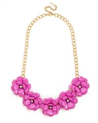 BaubleBar | Metallic Jumbo Bloom Bib | Lyst