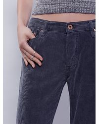 Free People - Black Wilson Relaxed Cord - Lyst