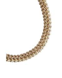 BCBGMAXAZRIA | Brown Woven Box-chain Necklace | Lyst