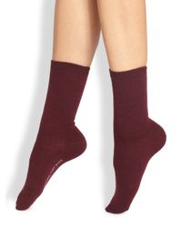Falke | Red Wool Ankle Socks | Lyst