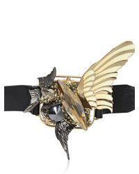 Heaven Tanudiredja - Metallic Squircle Leather Bracelet - Lyst