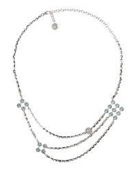 Rebecca - Metallic Necklace - Lyst