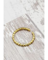 Forever 21 | Metallic Shashi Pebble Midi Ring | Lyst
