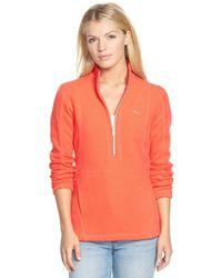 Tommy Bahama | Pink 'aruba' Half Zip Sweatshirt | Lyst