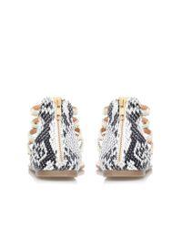 Miss Kg - Natural Dixie Multi-strap Sandals - Lyst