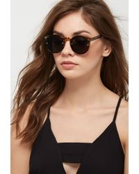 Forever 21 - Brown Spitfire Post Punk Sunglasses - Lyst