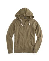 J.Crew - Natural Cotton-cashmere Zip Hoodie for Men - Lyst