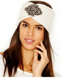 BCBGeneration | White Shines Bright Headwrap | Lyst
