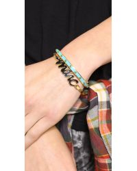 Marc By Marc Jacobs - Snakey Marc Bangle Bracelet Black - Lyst