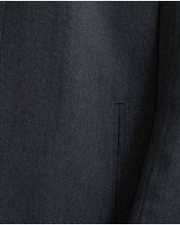 Zara | Blue Blazer With Combined Interior for Men | Lyst