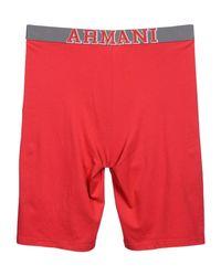 Emporio Armani | Red Boxer for Men | Lyst