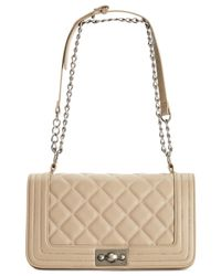 Steve Madden | Brown Bfriend Quilted Shoulder Bag | Lyst