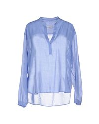 Mauro Grifoni | Blue Blouse | Lyst