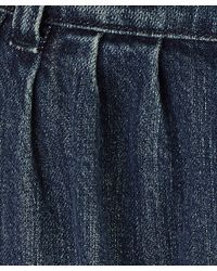Paul by Paul Smith - Blue Denim Tailored Turn Up Jean - Lyst