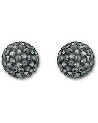 Swarovski - Black Pop Pierced Earrings - Lyst