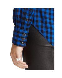 Polo Ralph Lauren | Blue Slim Western Shirt | Lyst