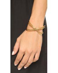 Gorjana - Metallic Skyler Cuff Bracelet - Gold - Lyst