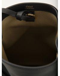 Chloé | Black Emma Leather Shoulder Bag | Lyst