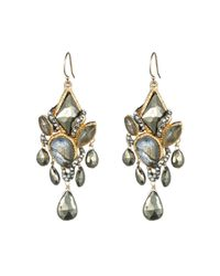 Alexis Bittar | Metallic Clustered Chandelier Drop Earrings You Might Also Like | Lyst