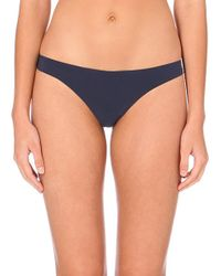 La Perla | Blue Freesia Lace-back Briefs | Lyst