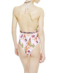 La Perla | White Non-wired Swimsuit | Lyst