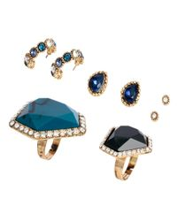H&M | Blue Jewellery Set | Lyst