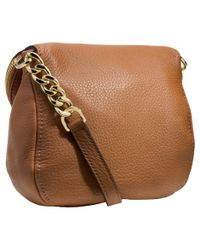 MICHAEL Michael Kors - Brown Bedford Flap Crossbody - Lyst