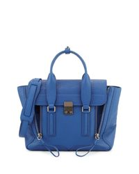 3.1 Phillip Lim - Blue Pashli Medium Leather Satchel - Lyst