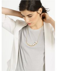 BaubleBar | Metallic Peapod Necklace | Lyst