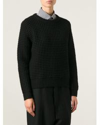 Marc By Marc Jacobs | Black 'wally L/s' Sweater | Lyst