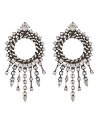 DANNIJO - Metallic Linda Earrings - Lyst