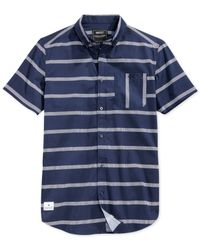 Wesc | Blue Avon Slim-fit Shirt for Men | Lyst