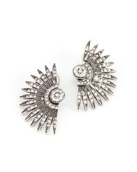 Lulu Frost - Metallic Beacon Stud - Lyst