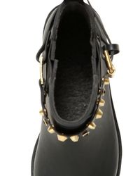 Colors Of California - Black 20Mm Rubber Ankle Boots - Lyst