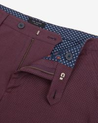 Ted Baker - Textured Cotton Shorts for Men - Lyst
