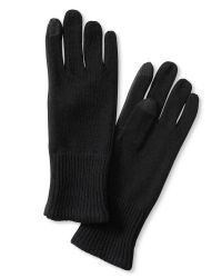 Banana Republic | Black Faux-leather Framed Texting Glove | Lyst