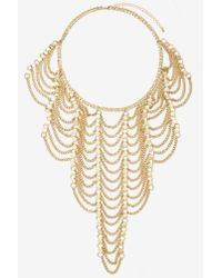 Nasty Gal | Metallic Climb The Ladder Chain Necklace | Lyst