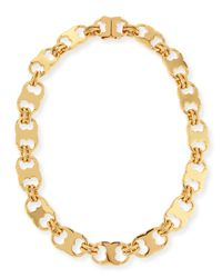 Tory Burch - Metallic Gemini Large Link Necklace - Lyst