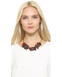 Marni - Red Strass Necklace - Fire - Lyst