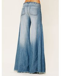Free People - Blue Fp Vintage Extreme Flare - Lyst