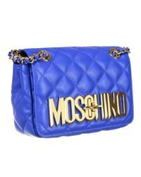 Moschino | Blue Handbag | Lyst