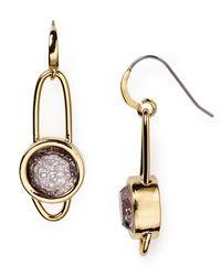 Marc By Marc Jacobs   Metallic Orbit Drop Earrings   Lyst